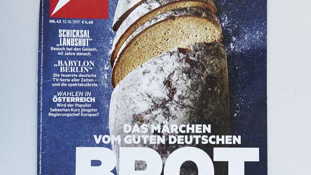 Brot für die Titelseiten. (Quelle: Wolf)