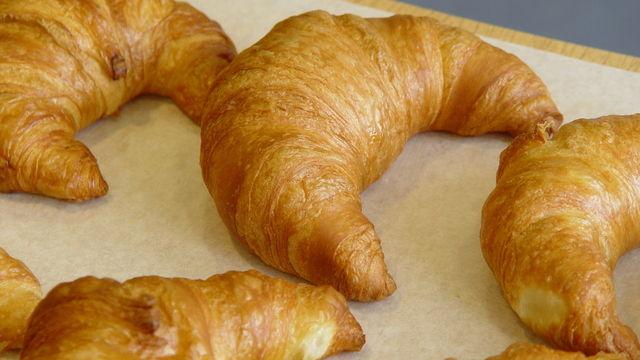 Moin hat sich auf Croissants in Bio-Qualität spezialisiert. (Quelle: Archiv/Kauffmann)