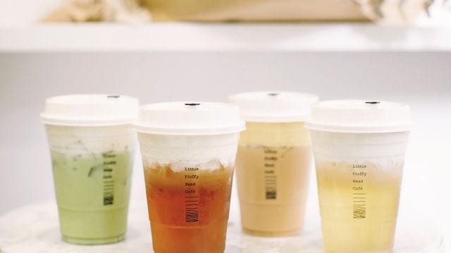 Oolong-Tee mit Frischkäse, Matcha-Tee mit Cheddar Cheese – Tee wird heute nicht mehr nur mit Schlagsahne getoppt, sondern mit cremig-süßen Reibe- und Frischkäsevariationen serviert. (Quelle: Jeny Zheng)