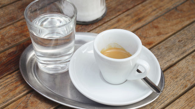 Kaffee genießen Deutsche gerne außer Haus. (Quelle: Archiv/Kauffmann)