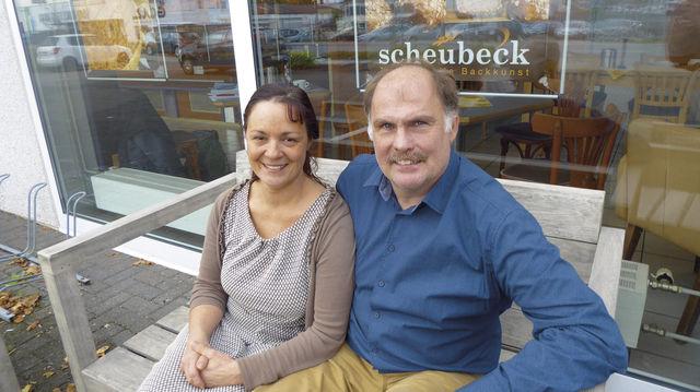 Starkes Team: Elke und Jürgen Friedrich Scheubeck. (Quelle: Treiber)