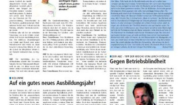 Neues redaktionelles Konzept der ABZ
