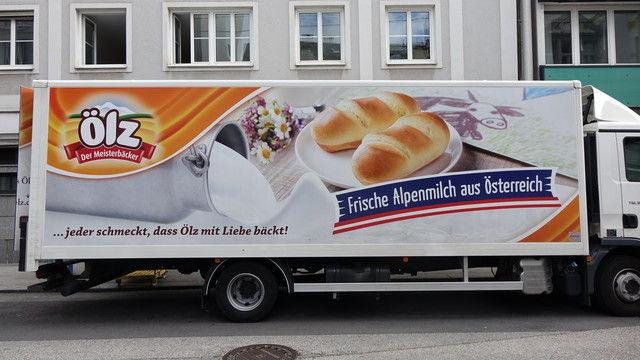 Ölz ist für den Lebensmitteleinzelhandel unterwegs. In Österreich- und vor allem auch in den Nachbarländern.  (Quelle: Wolf)