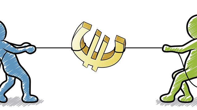Gehaltsgespräche: Kraftakt ums Geld (Quelle: Fotolia)