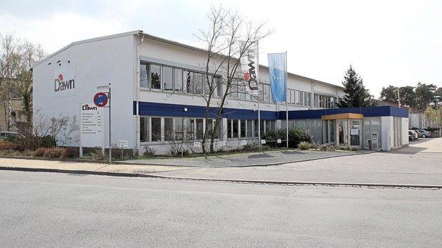 Der Firmensitz von Dawn in Darmstadt. (Quelle: Unternehmen)