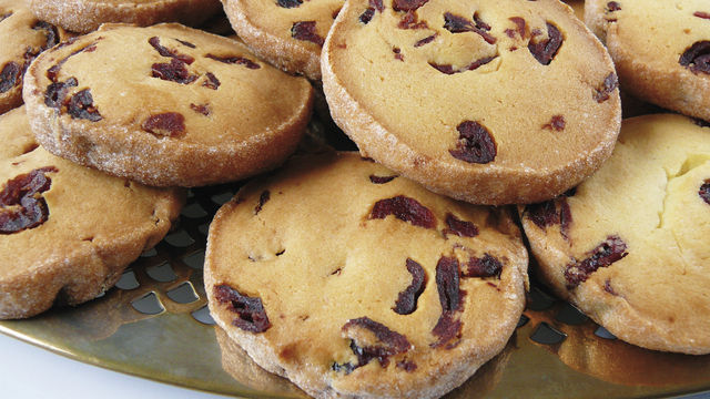Cranberry-Cookies (Quelle: Eichler)