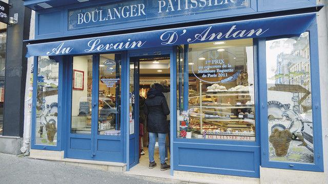 """Französische Wirklichkeit: Nur wo """"Boulanger"""" dransteht, ist in den Produkten echtes Handwerk drin. (Quelle: Archiv /Wolf)"""