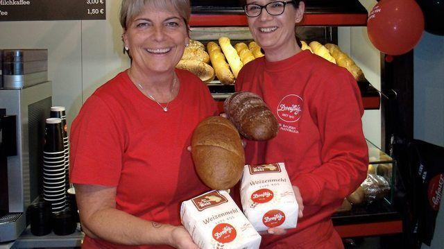 Brote aus 100 Prozent Brandenburger Mehl präsentiert die Gubener Bäckerei Dreißig auf der Grünen Woche in Berlin. (Quelle: Schlag)