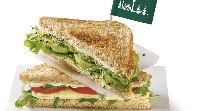 Das Bio-Sandwich-Toast als Basis für Snacks. (Quelle: Unternehmen/Beumer&Lutum)