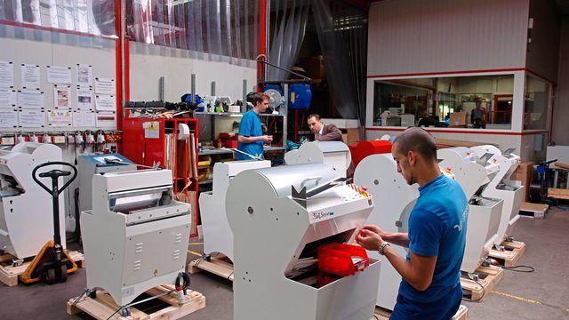 Jac produziert im belgischen Liège vorwiegend Gatterschneidemaschinen. (Quelle: Archiv)