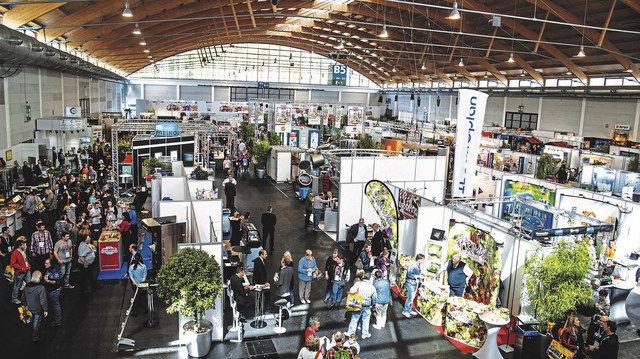 Regionale Fachmesse für Ernährungshandwerker am Bodensee. (Quelle: Messe)