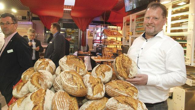 """Das Thema """"Brot"""" stand auf der Hausmesse besonders im Fokus. (Quelle: Heck)"""
