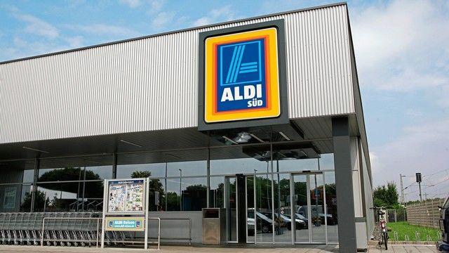 Aldi-Filialen wie diese liegen meist außerhalb der Innenstädte. Kleinere Filialen könnten ein Konzept für die City sein.  (Quelle: Aldi Süd)