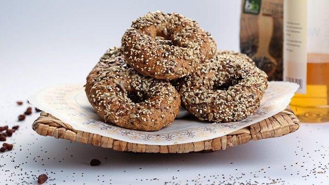 Dinkel-Chia-Bagel: Gebäcke aus Urgetreide bieten in Kombination mit Superfood Potenzial bei gesundheitsbewussten Verbrauchern. (Quelle: Archiv/Bauhofer)