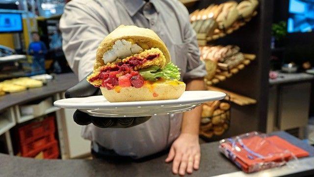 Burger mit innovativer Füllung. (Quelle: Archiv/Wolf)