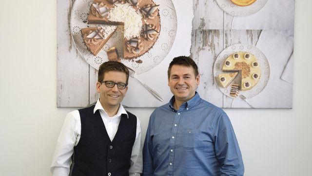 Robin Schimpf (l.) und Markus Schöllmann (Quelle: Pröll/Betrieb)