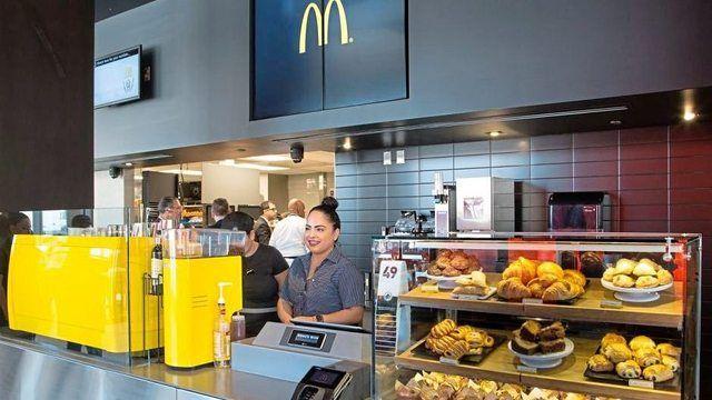 """Das """"Experience of the Future-Restaurant (EOTF)"""" von McDonald's mit besonderem Ambiente und Menüs aus aller Welt.  (Quelle: McDonald's)"""