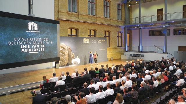 Festveranstaltung zum Tag des Deutschen Brotes am 15. Mai in Berlin. (Quelle: Blath)