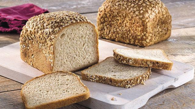 Haferbrot ohne Gluten (Quelle: SYSTEM)