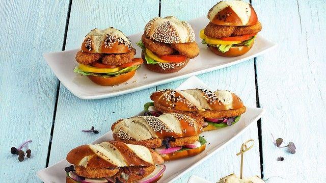 Der Klassiker: Schnitzel ist allen Trends zum Trotz Deutschlands Liebling – und für Bäcker-Snacks geeignet.  (Quelle: Archiv)