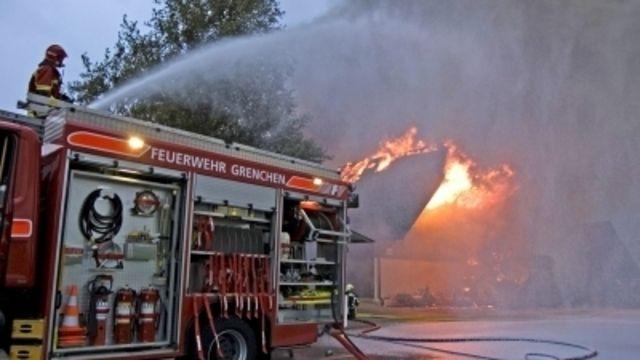 In Eilenburg musste die Feuerwehr einen Backstubenbrand löschen.  (Quelle: pixelio/Paul-Georg Meister)