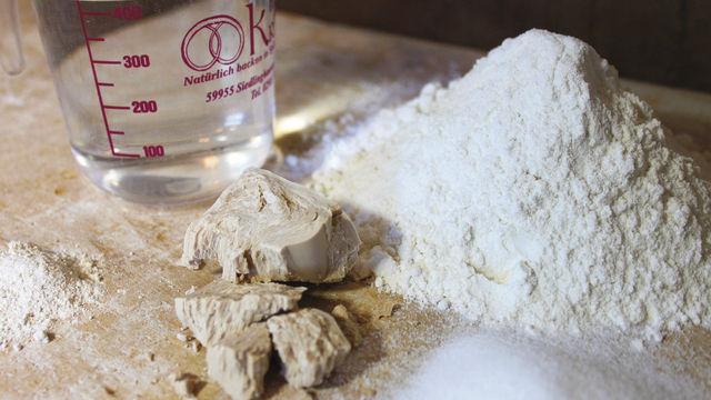 Ein Brötchen braucht nur wenige Zutaten – die Teigführung bestimmt die Geschmacks-/Aromabildung. (Quelle: Kräling)