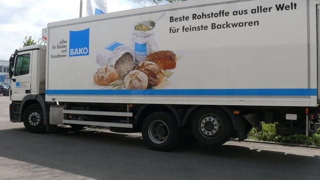 Auf dem Weg dem Weg zur Bäko-Zentrale e.G. praktisch am Ziel.   (Quelle: Archiv/Wolf)