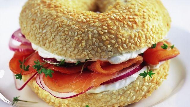 Das Produkt zum Namen der Bagel Bakery.  (Quelle: ABZ-Archiv)