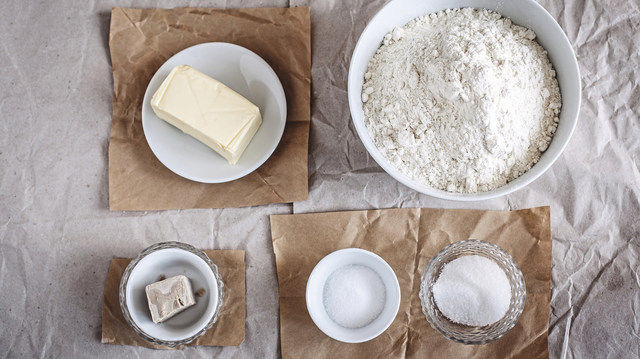 Die Mischung macht's: Ab gewissen Abnahmemengen können Bäcker mitentscheiden, welche Rohstoffe im Mix enthalten sind. (Quelle: Fotolia/EvaGruendemann)
