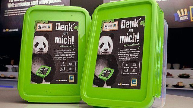 Mehr Nachhaltigkeit bei Edeka: Mehrwegdosen für die Frischetheke.  (Quelle: Edeka)