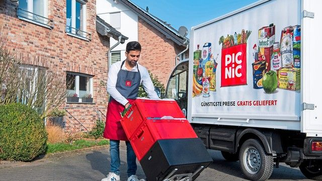 Der Online-Supermarkt will mit günstigsten Preisenden Lebensmittel-Einzelhandel revolutionieren (Quelle: obs/Picnic)