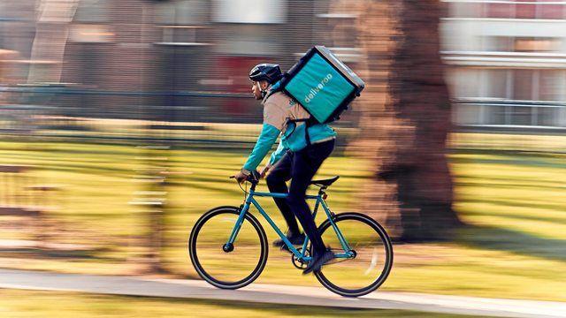 Gibt es vielen deutschen Städten bald nicht mehr: Essenskuriere von Deliveroo. (Quelle: Deliveroo)