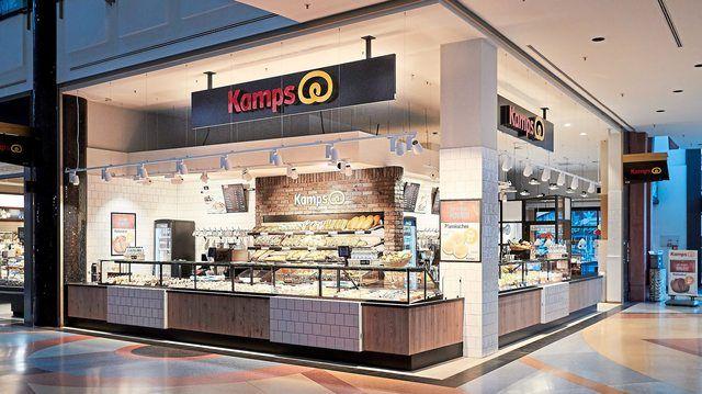 Kamps Bäckerei im Berliner Einkaufszentrum Alexa am Alexanderplatz.  (Quelle: Kamps Berlin Alexa)