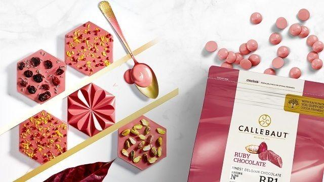 Callebaut RUBY RB1: Die Weltneuheit kreativ in Szene gesetzt (Quelle: Barry Callebaut Deutschland GmbH)