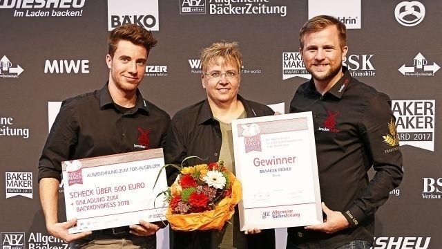 BakerMaker: Preisverleihung für Deutschlands beste Ausbilder (Quelle: Matthaes Verlag GmbH)