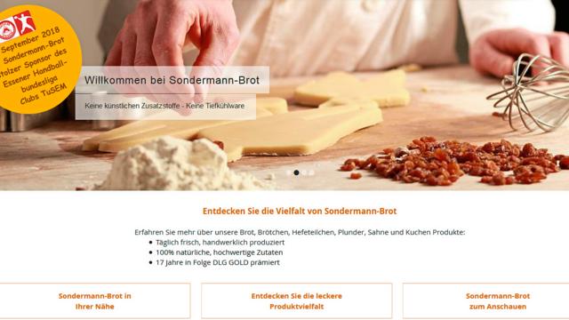 Sondermann-Brot betreibt rund 110 Filialen in Nordrhein-Westfalen. (Quelle: Snapshot ABZ)