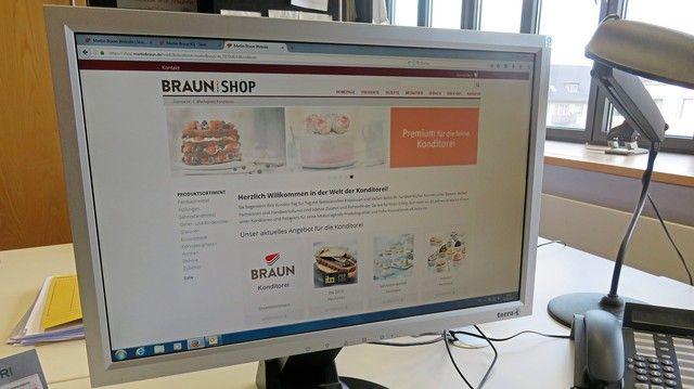 Die Nutzerzahlen des Braun Onlineshops steigen. (Quelle: Unternehmen)