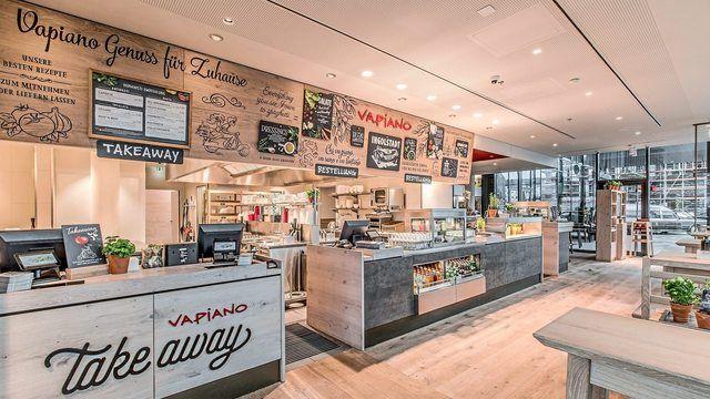 Erst vor zwei Jahren hat Vapiano ein neues Take away Konzept installiert. (Quelle: Unternehmen)