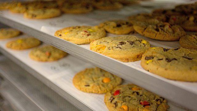 Aryzta betreibt weltweit Produktionsstätten wie hier eine für Cookies. (Quelle: Unternehmen)