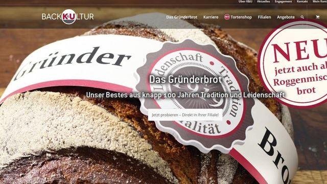 Auf seiner Homepage stellt K&U das handwerkliche Arbeiten in den Mittelpunkt. (Quelle: Snapshot ABZ)