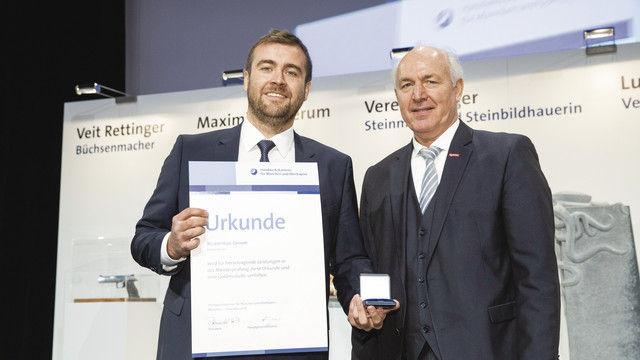 Maximilian Gerum (li) und Franz Peteranderl. (Quelle: Schuhmann)