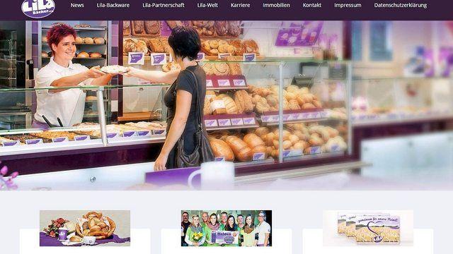 Die Bäckereikette Lila Bäcker betreibt rund 400 Filialen. (Quelle: ABZ-Snapshot)