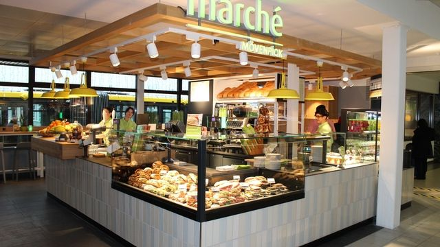 Die neue Sandwich Manufaktur am Berliner Flughafen.  (Quelle: Marché)
