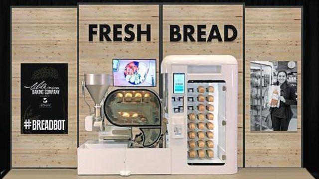 Die Backmaschine von Wilkinson backt Brot voll automatisiert. (Quelle: Unternehmen)