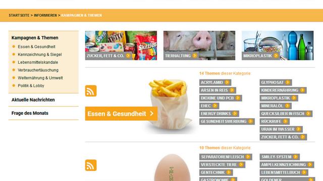 Die Verbraucherorganisation Foodwatch will Hygienezustände auf einer neuen Online-Plattform aktiv schalten. (Quelle: ABZ-Snapshot)