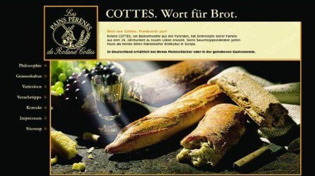 Das französische Erfolgsbrot ist jetzt online: www.Cottes.de