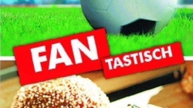 Viel versprechende Kombination: Backwaren und das Thema Fußball.