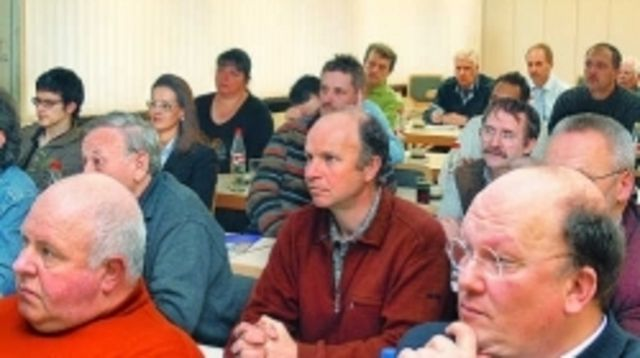 Die angesprochenen Energiethemen und deren Einsparpotenzial fand bei der Tagung im Reutlinger Bäko-Haus große Aufmerksamkeit.  (Quelle: Stecher)