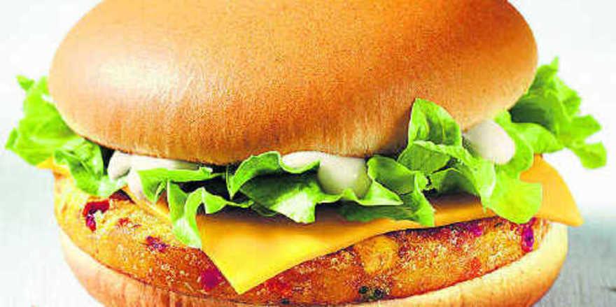 Mit dem Veggieburger und leichter Kost will McDonald's Kaufkraft anziehen.