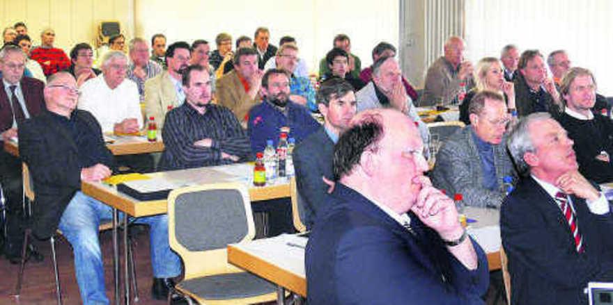 Viele Teilnehmer bei der Energietagung in Reutlingen: Großes Interesse an den Möglichkeiten zur effizienten Nutzung von Energie.